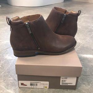 Franco Sarto side zip booties